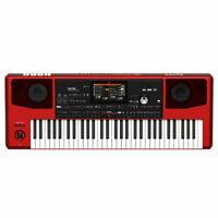 Korg PA700 Professional Arranger 61-Key with Touchscreen and Speakers (Red)