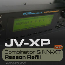 JV2080 + XP80 REASON REFILL 175 NNXT & COMBINATOR VOL2 1400 SAMPLES 24bit MAC PC