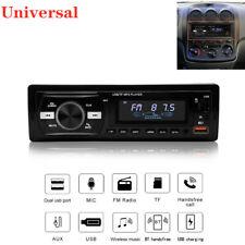 12v Bluetooth Usbfmwav Radio Audio Stereo Mp3 Player Remote Control Dual Knob Fits Corvette