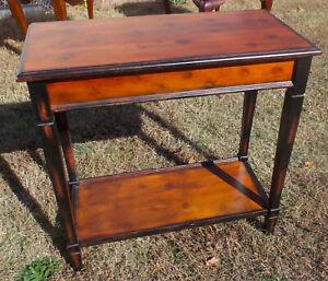 Mahogany Sofa Table / Entry Table