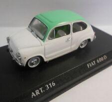 Voitures, camions et fourgons miniatures multicolore pour Fiat 1:43