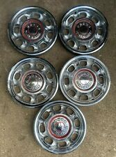 Set 4 Lot 5 Vtg Dodge Division Chrysler 1969-1971 Hub Cap Wheel Cover Hot Rod