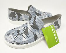 Crocs Citilane Roka Camo 2 Slip On Shoes Mens Size 11 Camouflage  NEW