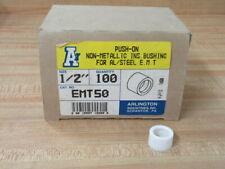 "Arlington EMT50 1/2"" Push-On Insulated Bushing (Pack of 100)"