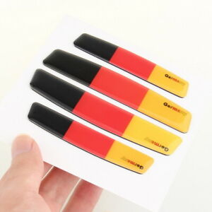 German Flag Car Door Edge Scratch Anti-Collision Protectors Guards Strip Trim