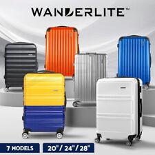 Wanderlite Luggage Set Suitcase Sets 1/2/3pc Carry On TSA Hard Case Lightweight