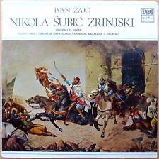 Rare Ivan Zajc Nikola Subic Zrinjski NM Vinyl Yugoslavian Press Jugoton