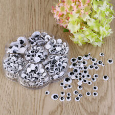 700pcs  Plastic Wiggle Googly Eyes Self-Adhesive for DIY Dolls Kids Crafts