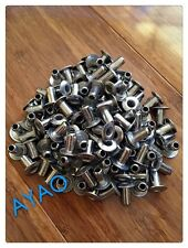 10 X Ayao Stainless steel grommet for 3.2mm wire/rope DIY