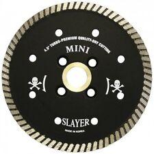 """Slayer Supreme Granite Turbo Diamond Blade -- 4 1/2"""""""