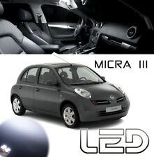 Nissan MICRA 3 K12 2 Ampoules LED Blanc éclairage habitacle plafonnier Coffre