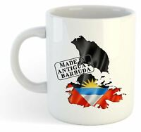 Made In Antigua & Barbuda - Flag / Map / Country Mug