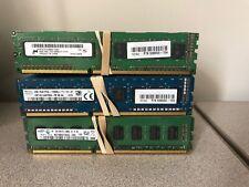 Lot of 60 4GB DDR3 Desktop RAM Memory Modules — Tested