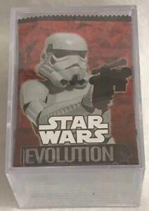 Star Wars Evolution 2016 Topps Base Set Of 100 Plus 2 Chase Sets