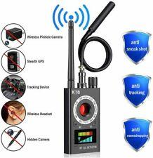 CC308+ Anti-Spy RF Signal Bug Detector Hidden Camera Laser Lens GSM Finder K18