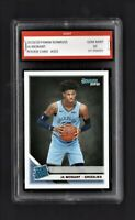 2019 Ja Morant Panini Donruss Rated Rookie 1st Graded 10 Memphis Grizzlies Card