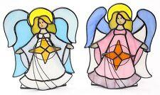 Glass Angel Candle & Tea Light Holders