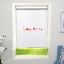 White Roller Shade 4ply Vinyl Blackout Blind Home Window Custom Made In Canada
