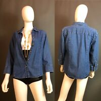 St. John's Women's Denim Shirt Size S/M