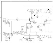 Electronic Diagram for Ampeg J-12T Vacuum Tube Amplifier, Schematic