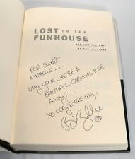 LOST IN THE FUNHOUSE: LIFE AND MIND OF ANDY KAUFMAN BY BILL ZEHME SIGNED 1st Ed.