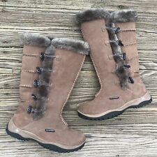 Baffin Women's Loki Snow Boots Brown Waterproof Insulated Faux Fur SIZE 7 M
