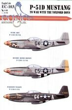 Eagle Cal 1/48 North American P-51d Mustang 357th Fg Pt 3 #48103