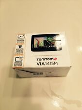 "NEW TomTom VIA 1415M 4.3"" Portable GPS Set w/ Lifetime Maps US/MEX/CAN IQ Routes"