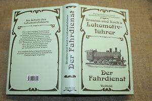Buch Lokführer historische Dampflokomotive Bahnbetriebswerk Bahntechnik