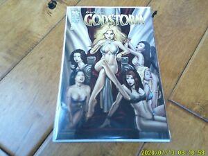 Grimm Fairy Tales: Godstorm #1 (2012 Series) Zenescope 'Keu Cha Cover B' NM