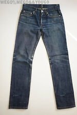 APC A.P.C. New Standard Selvedge Butler Fades Jeans Denim Distressed  28 x 32