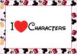 I Love Characters