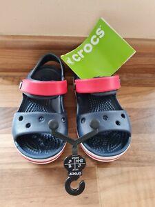 Boys Crocs Sandals Infant Size 7 new
