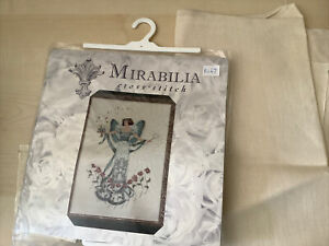 Mirabilia Counted Cross Stitch Angel Kit With Fabric