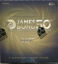 James Bond 50th Anniversary Series 1 Factory Sealed Hobby Box 24 Packs