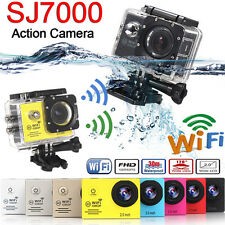 "SJ7000 2"" WIFI Sports Action DV Camera Pro Camcorder LCD HD 1080P Cam Waterproof"