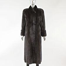 Ranch Mink Fur Coat - Size S