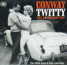 CONWAY TWITTY , ROCK N ROLL COLLECTION NEW! CD 30 TRACKS,TELL ME ONE MORE TIME