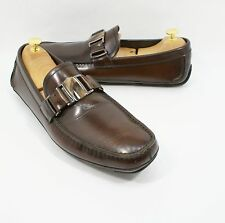 Salvatore Ferragamo Sardegna 5 Nero Sopra Calf Loafer  Brown  Size 11 D $680