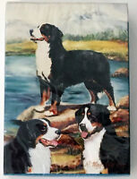 NEW Bernese Mountain Dogs Puppy Berners Rescue Set 5 Party Gift Bags 6 x 8.5 x 4