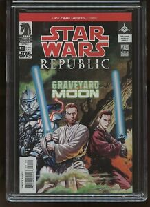 STAR WARS: REPUBLIC #51 CGC GRADED 9.8 WHITE PAGES 2003 #3737995007
