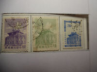 China Formosa Stamps O Used 3 Total 0.40 0.80 2.50  81-2A46