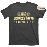 Whiskey River Take My Mind Willie Nelson Merle Haggard Pancho and Lefty T Shirt