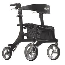 Drive Nitro Elite CF Euro-Style Rollator Walker, Super Light--- only 12 lbs.