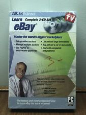 Learn eBay Complete 3 CD Set Video Professor New/Factory Sealed!