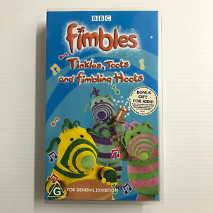 Fimbles: Tinkles, Toots And Fimbling Hoots. NEW SEALED VHS Video Tape ABC Kids