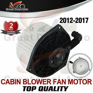 BLOWER FAN MOTOR Airconditioning for HOLDEN COLORADO RG Isuzu D Max 2012-2017