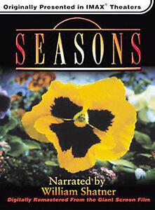 Seasons (DVD, 2002) New Sealed