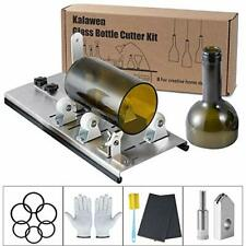 Kalawen Adjustable Glass Bottle Cutter Kit DIY Tool, Stainless Steel Cutting