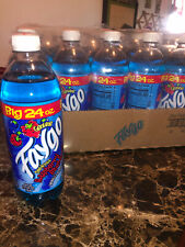 (1) Faygo Blueberry Raspberry Soda Big 24oz Exotic Rare Blue Pop Lil Mosey